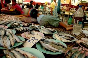 a market in bangkok